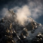 Best Landscape and Best Overall - Chamonix Aiguille du Midi in the morning Light - David Graham